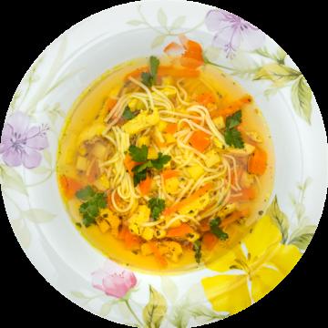 Smak domu – Rosół drobiowy z makaronem
