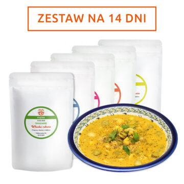 Zestaw zup na 2 tygodnie