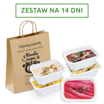 Catering zupowy na 14 dni