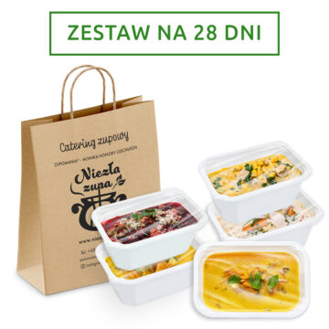 Catering zupowy na 28 dni