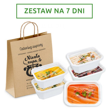 Catering zupowy na 7 dni