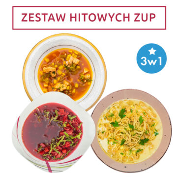 Zestaw zup 3w1 – Hitowe smaki