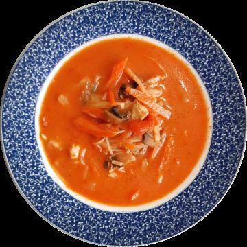 HIT Pomidorówka po tajsku – Kokosowo-pomidorowa z kurczakiem